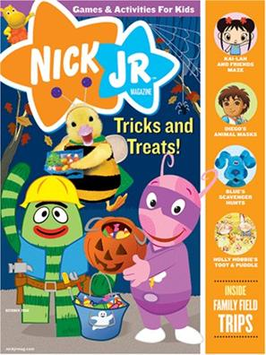 Nick Junior Magazine
